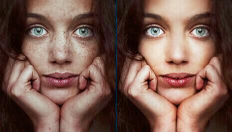 portrait photo retouching service