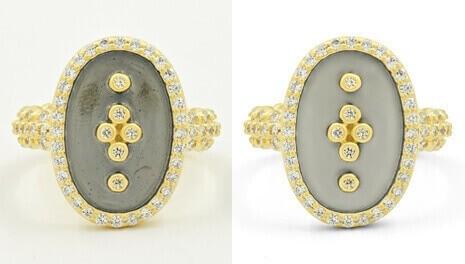 jewelry photo retouching for eCommerce