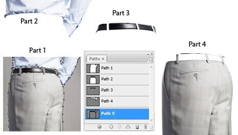 cut out image clipping path services