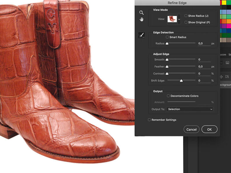 how to create transparent background using photoshop