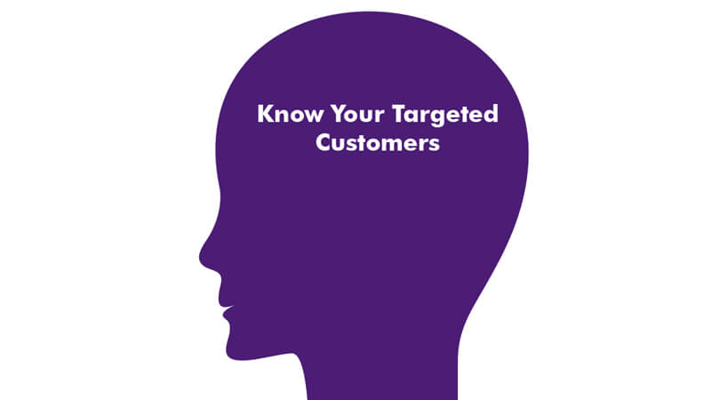 know your targeted customers