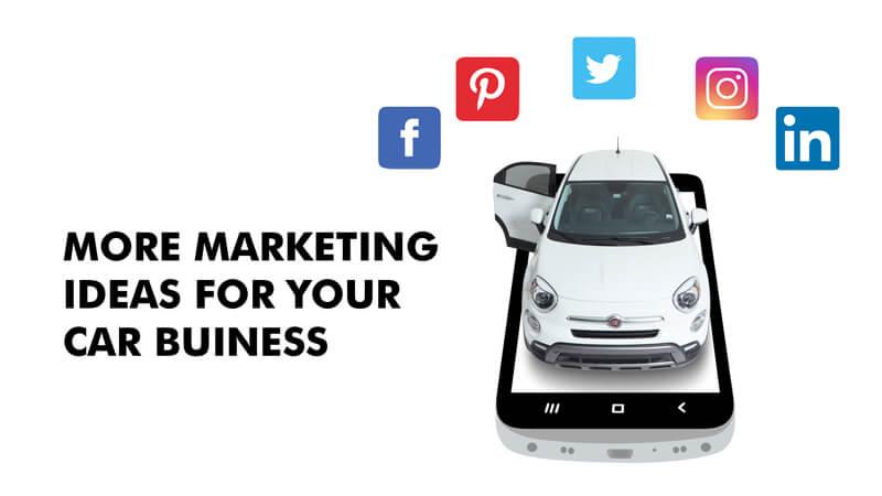 car marketing ideas for dealership business