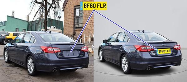 automotive photo manipulation in photoshop