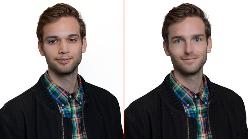 image tracing and face swapping in photoshop