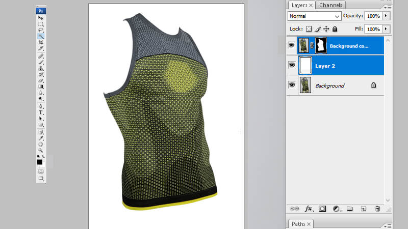 Create layer mask in photoshop